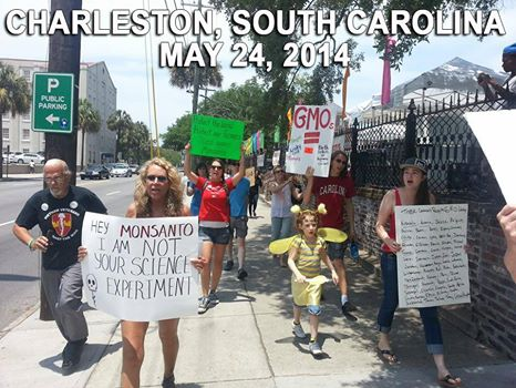Monsanto Protest South Carolina, USA