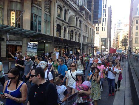 Monsanto Protest Australia.